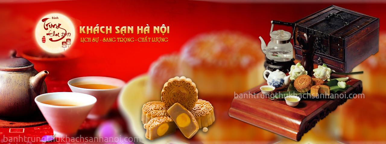 Bánh trung thu khách sạn Hà Nội 2017